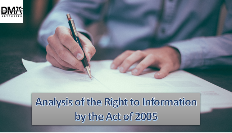 analysis of the right to information